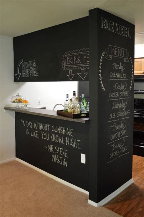 Chalkboard Paint Ideas Kitchen 35 Creative Chalkboard Ideas For Kitchen D 233 Cor Interior Decorating And Home Design Ideas