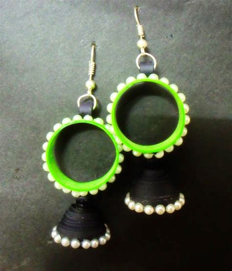 Paper Jewellery Design And Make - beautiful easy paper quilling jewellery designs