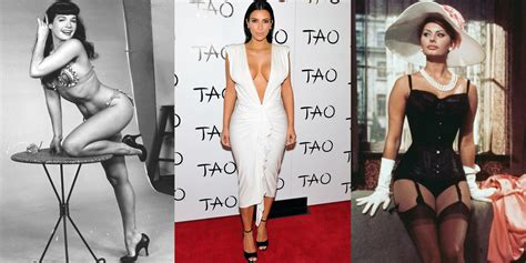 best shaped women in the world the best celebrity hourglass bodies of all time famous