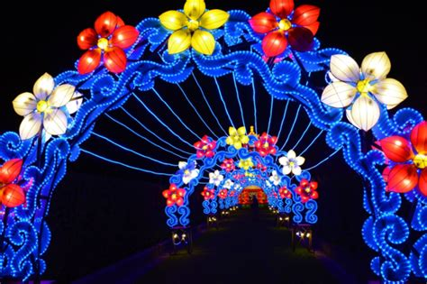 lights festival orleans china lights lantern festival is the best lantern in