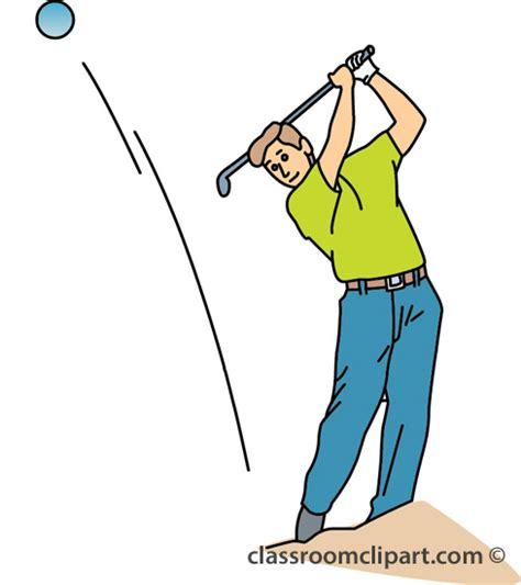 golf swing clip art golfer images clipart best