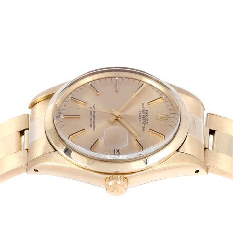 Rolex Series rolex date series automatic 1500 pre owned vintage