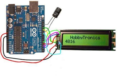 tutorial arduino display lcd arduino uno tutorial 10 lcd