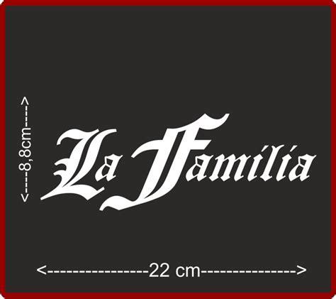 Aufkleber Lösen Von Glas by La Familia Style Aufkleber Sticker Sticker Bomb Shocker