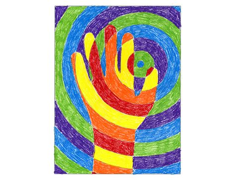 art projects warm hands color lesson project art projects for kids