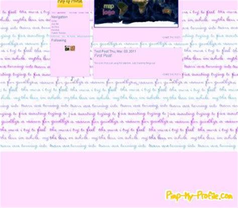 tumblr themes diary style diary tumblr themes pimp my profile com