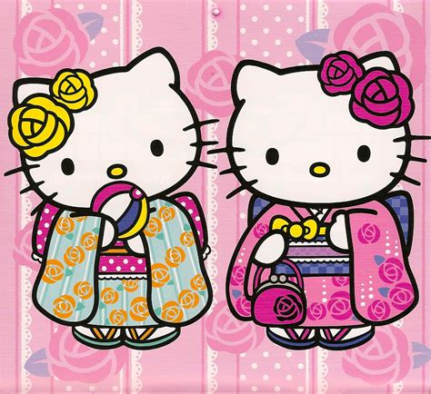hello kitty kimono coloring page 6 best images of printable hello kitty kimono hello