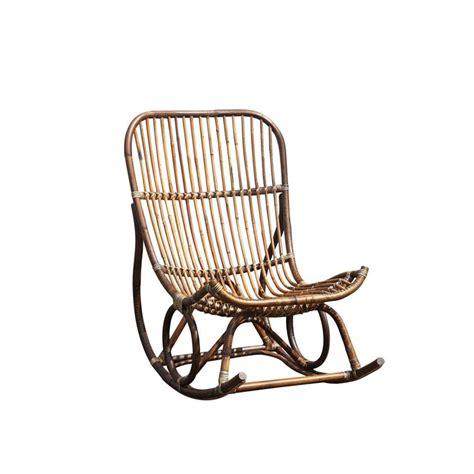 schommelstoel tuin rotan schommelstoel kim rotan bruin