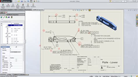 Announcing Solidworks Inspection Solidworks 3d Pdf Template