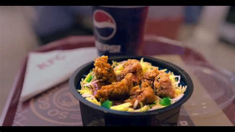 Rice Pop Chicken kfc rice bowlz tvc everything can wait for lunch this great