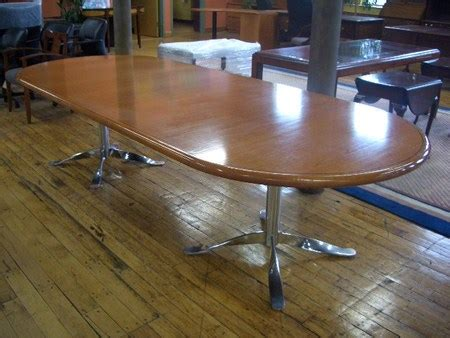 10 ft conference room table eco conscious refinished conference table 10