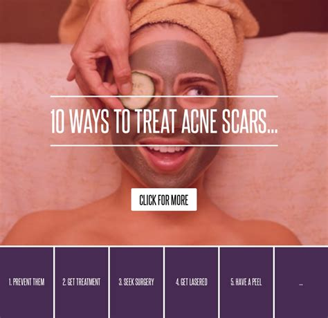 10 Ways To Treat Acne Scars 10 ways to treat acne scars