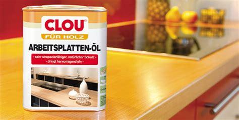 Neu von Clou: Arbeitsplatten Öl   Holz   News für Heimwerker