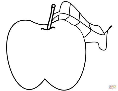 eaten apple coloring page 88 coloring page apple fruits with faces coloring