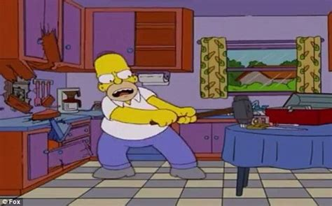 Calgary couple recreates the The Simpsons kitchen in their