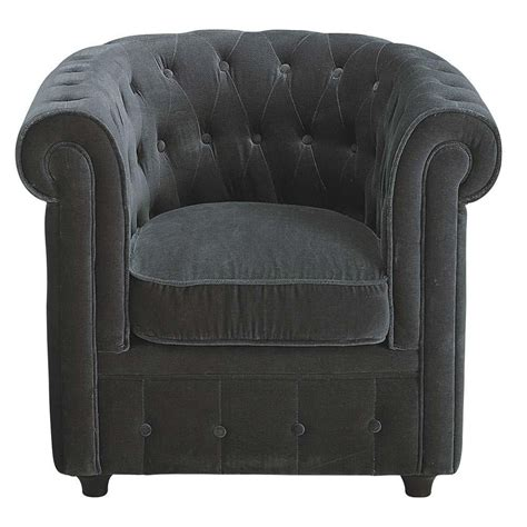 grey velvet armchair grey velvet armchair chesterfield chesterfield maisons du monde