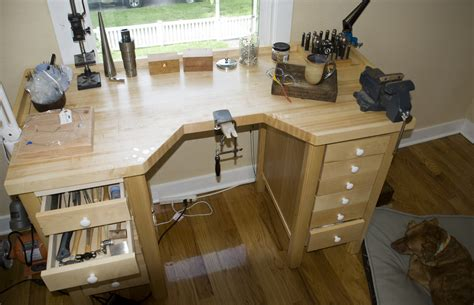 bench jewellery woodwork jewelry making bench block pdf plans