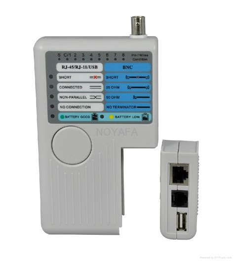 Multi Remote multi purpose remote network cable tester nf 3468