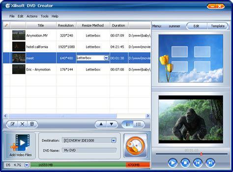 best free dvd creator xilisoft dvd creator shareware en chip eu