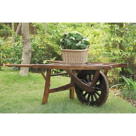barrow and bench vintage wheelbarrow this would be great in garden as a