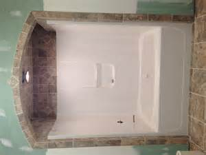shower for bathtub bathtub tile like the idea of tile around and above