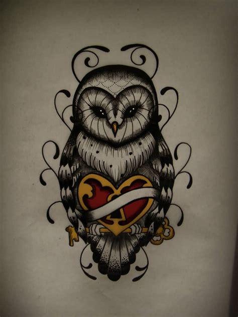 simple owl tattoo design 100 most popular owl tattoos golfian