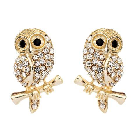 Owl Brooch And Earrings By Fluffsstuffs by Baby Owl Earrings Shop Amrita Singh Jewelry