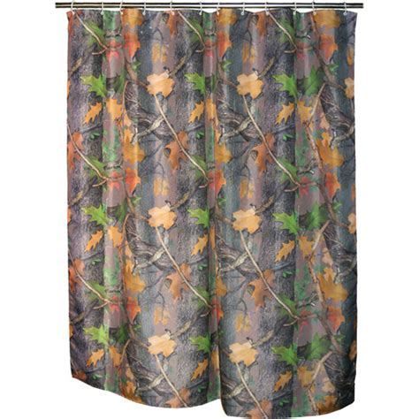 Camouflage Shower Curtains Rivers Edge Products Realtree Camo Shower Curtain Walmart