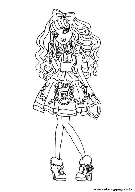ever after high dolls coloring pages ever after high dolls 8 coloring pages printable