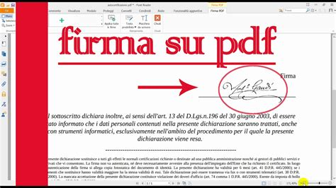 firma digitale come inserire la firma digitale su pdf