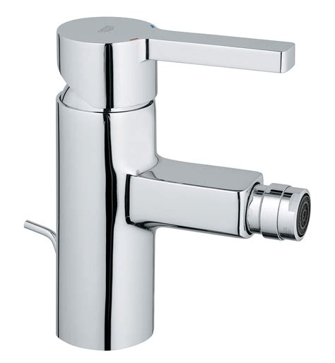 Bidet Mixer Taps grohe lineare bidet mixer tap with pop up waste 33848000