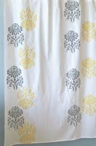 Gallery yellow and grey curtains