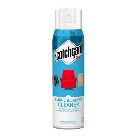 upholstery cleaner home depot scotchgard 16 5 oz fabric and carpet cleaner 4107 16