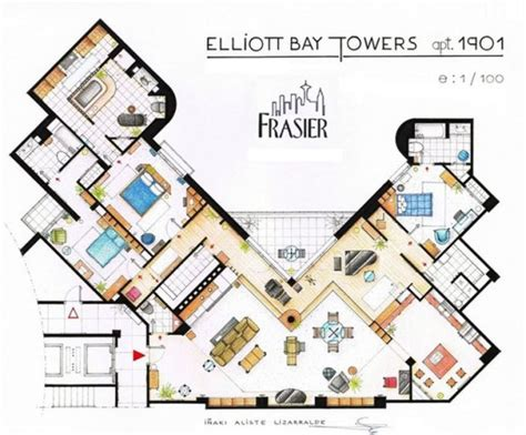 Playboy Mansion Floor Plan by