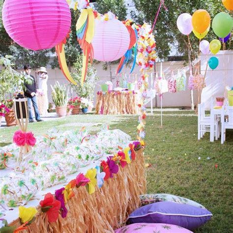 birthday themes hawaii adult luau games