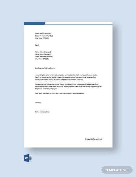 letter templates word google