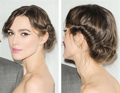 foto de peinado con pelo mediano peinados en cabello corto para fiesta