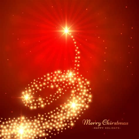 tarjeta de 225 rbol de navidad dorado descargar vectores gratis