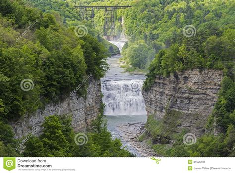 the and of dominick davidner middle falls time travel novel volume 3 books the middle falls at letchworth state park stock photo