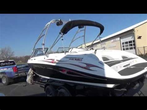 jet boats for sale on youtube 2005 yamaha ar230 used jet boat for sale in sandusky ohio