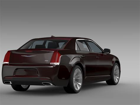 Buy Chrysler 300 by Chrysler 300 Limited Lx2 2016 3d Model Buy Chrysler 300