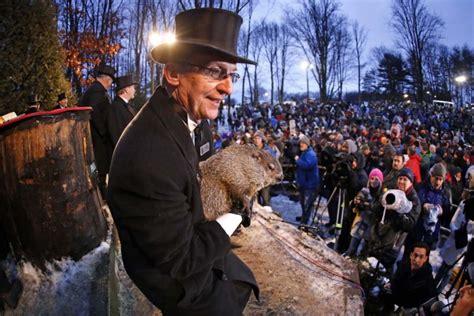 groundhog day festival groundhog day cold blasts northeast feb 2