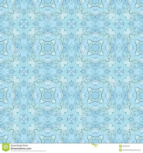 seamless pattern pale gray turquoise curls seamless pattern stock vector image of seamless