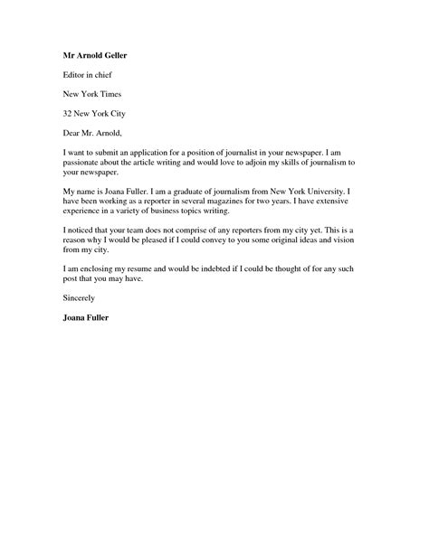 Cover Letter Of Employment by Application Cover Letter Jvwithmenow