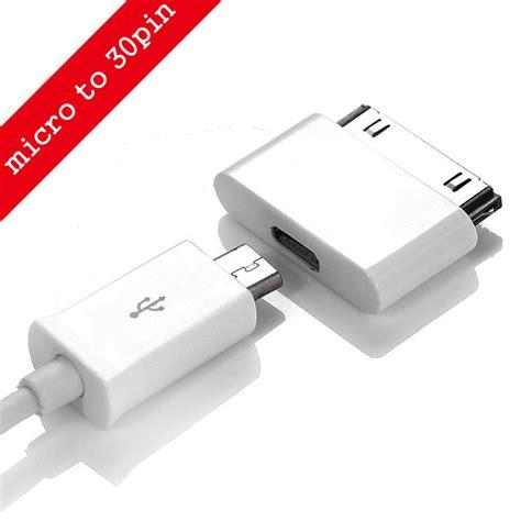 Eksklusif Adapter Konverter 30 Pin Apple Ke Micro Usb Untuk Iphone micro usb to 30 pin usb adapter connector converter cable adapter for iphone 4 4s 4g 3gs phone