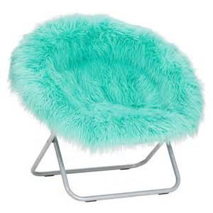 Blue Fuzzy Desk Chair Fluffy Moon Chairs Myideasbedroom