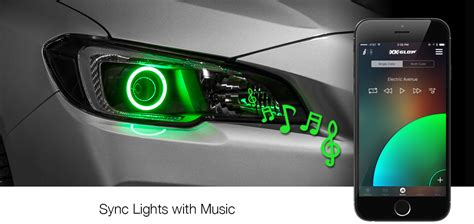 the music box music light synchronization controller rgb switchback halo kit no limit automotive solutions
