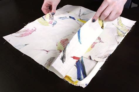how to sew an envelope pillow with piping ofs maker s mill