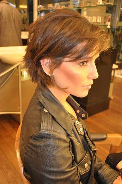 ponytail haircut for short layers front an top 20 short haircuts with bangs 2014 2015 short