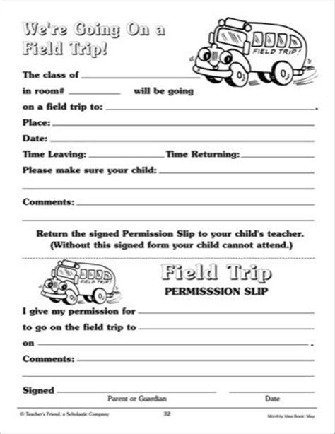 field trip permission form template 25 best ideas about field trip permission slip on